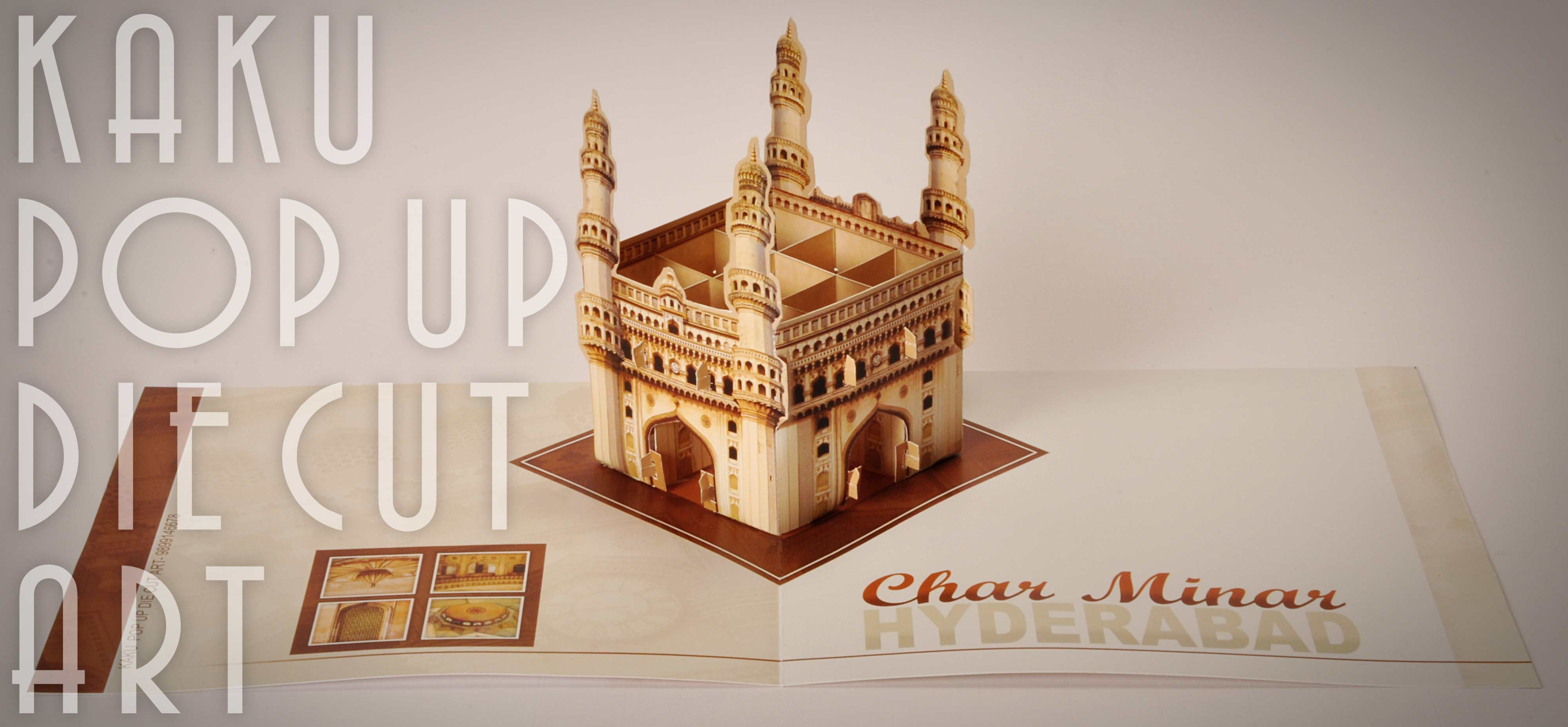 CHARMINAR HYDERABAD | POP UP BROCHURE