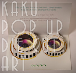 OPPO | POP UP EVENT INVITATION CARD