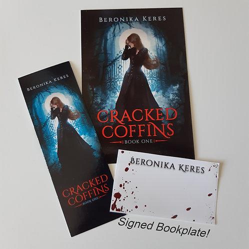 SIGNED Bookplate + Bookmark & Postcard