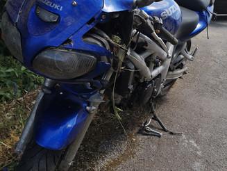 T1 Motorradbergung