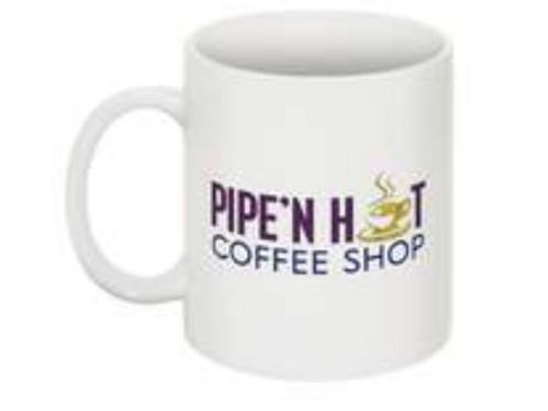 Pipe'n Hot Coffee Mug (Pre- Order) 11oz