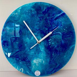 Resin Wall Clock