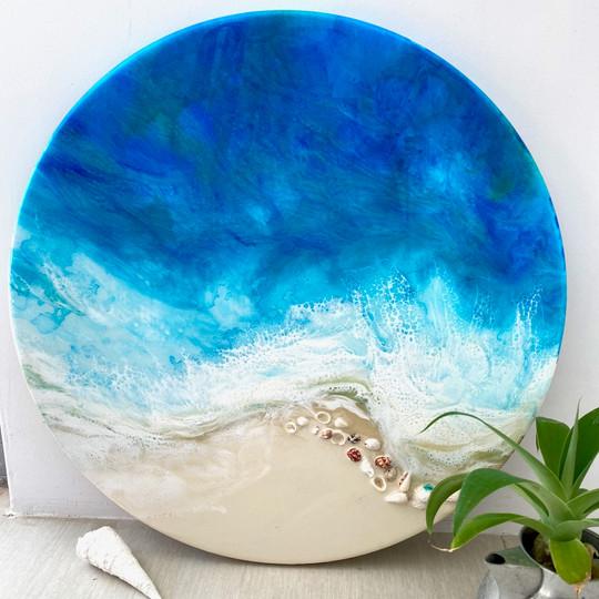 Seashelle On The Seahore