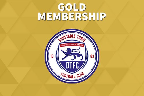 Dunstable Town Yearly Gold Membership