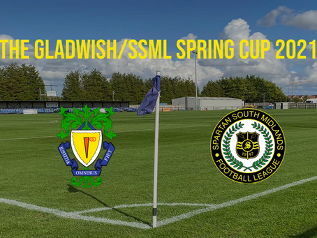 The Gladwish/SSML Spring Cup Announcement