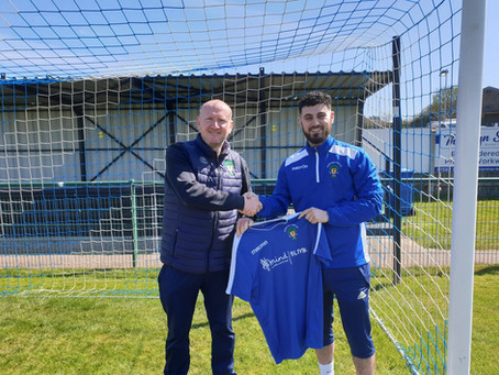 Christophi Joins The Blues