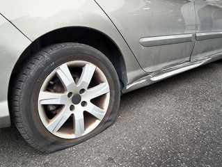 Flat Tire Repair vs. Tire Replacement