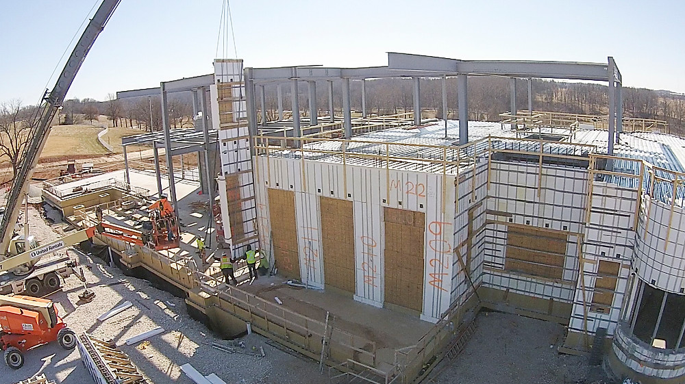 ICF block construction