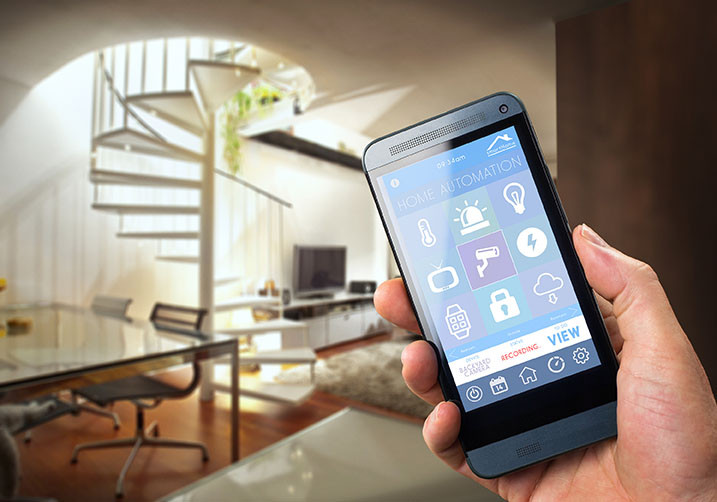 Energy Efficient Home Home Automation SmartPhone