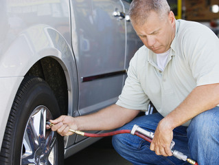 Tips from the Auto Shop: Tire Pressure and Your Safety
