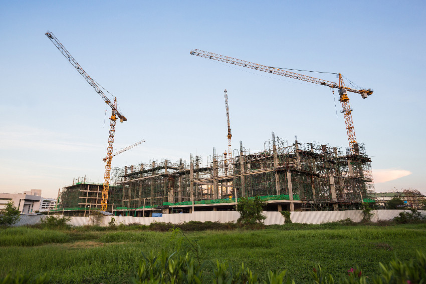 Sustainable building practices help new buildings be eco friendly