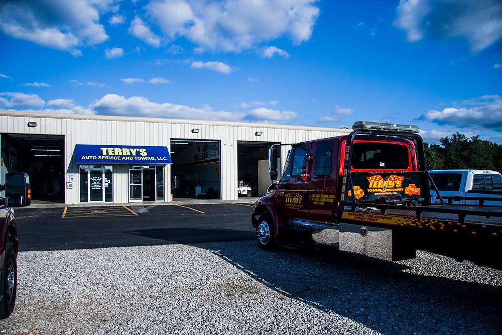 Terry's auto wrecker service