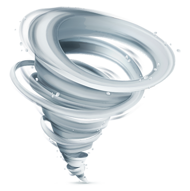 animated tornado swirl