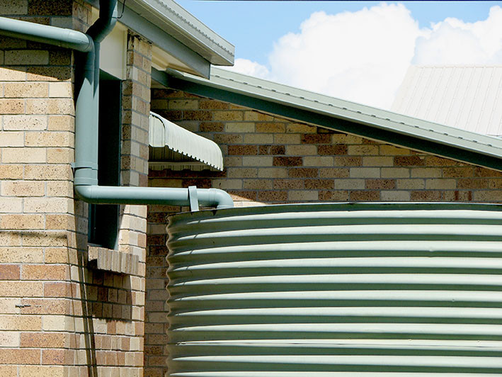 rainwater collection system for eco friendly homes