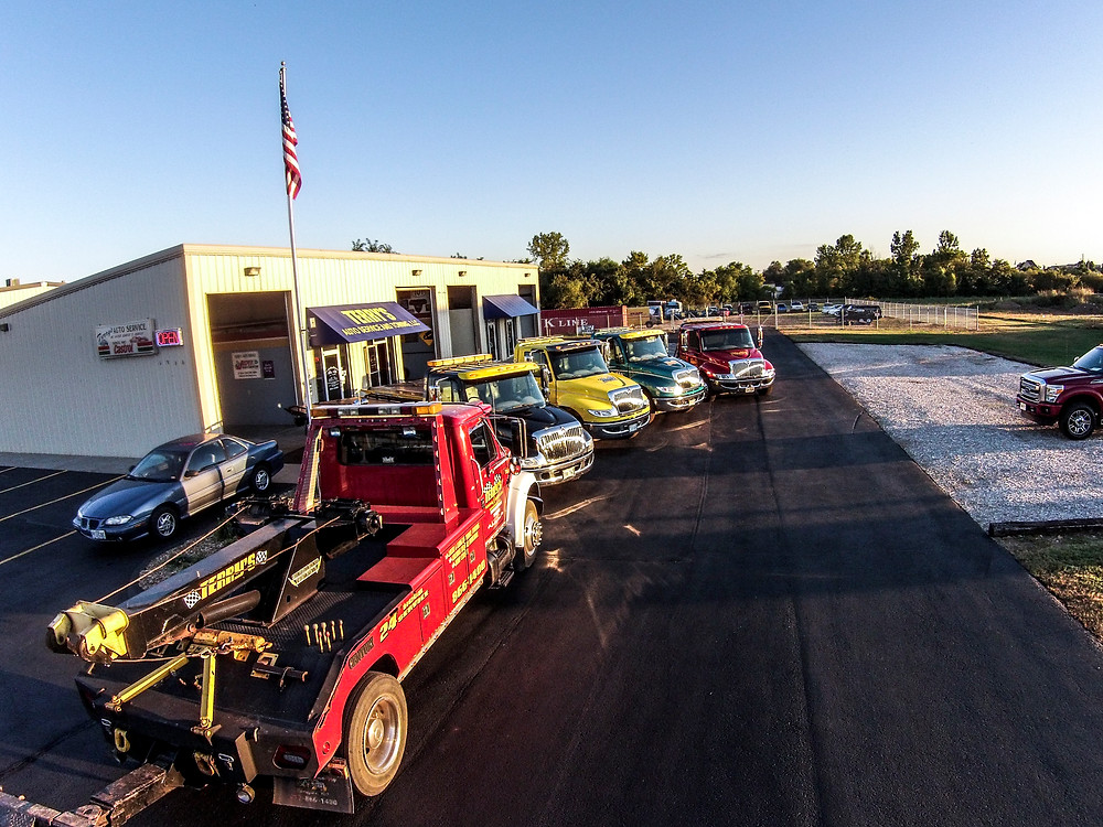 affordable towing with Terry's Auto