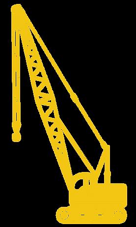 construction crane illustration