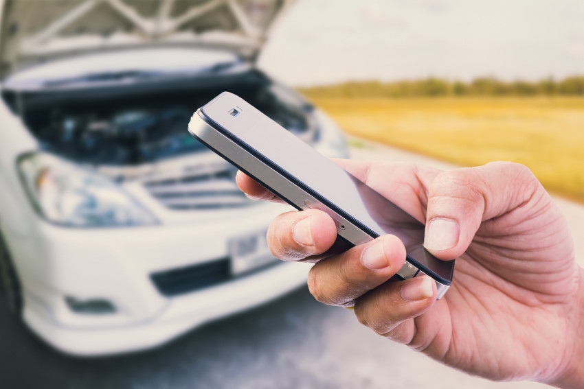 calling roadside assistance for common problems