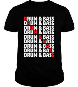 DRUM _ BASS T-SHIRT
