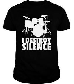 I DESTROY SILENCE T-SHIRT