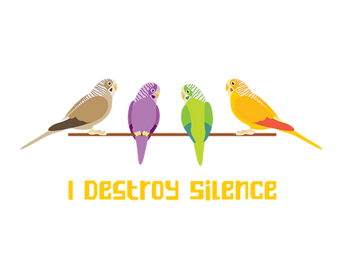 I destroy silence