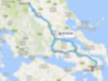 Itineraire Delphes et Meteores