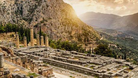 Tour organisé Grèce Classique - temple d'Apollon au lever du soleil