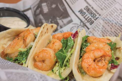 Cajun Shrimp Tacos