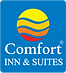 comfort inn and suites logo - link to corporate hotel website