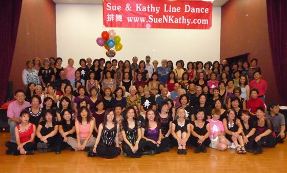 Sue & Kathy Line Dance 3rd Anniversary Party at CPAA