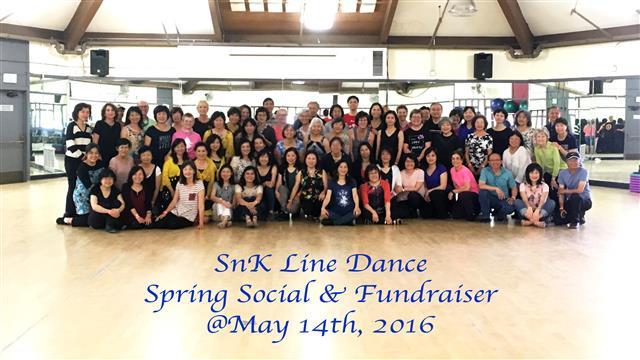 SnK Spring Social & Fundraiser 2016