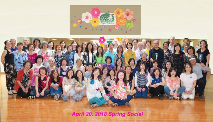 2018 Spring Social - Flower & Butterfly