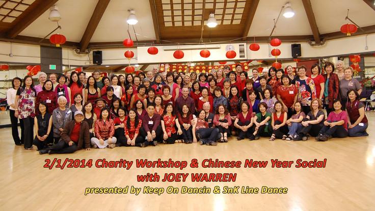 Charity workshop with Joey Warren