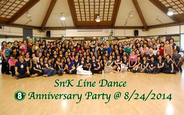 SnK Line Dance 8th Anniversary Party