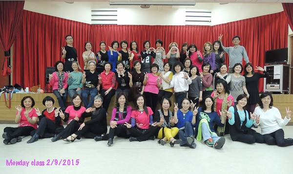Sue & Kathy in Taipei Taiwan (Line Dance Forever)
