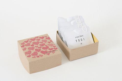 """Tea Bag Box """"Pink"""""""