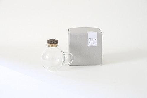 フラスコティーポット (茶)