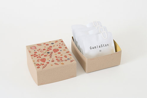 "Tea Bag Box ""Red"""