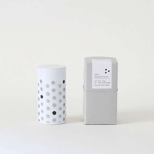 "Handmade Tea Can / S-Can "" dot """
