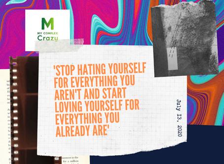 Believe in yourself?