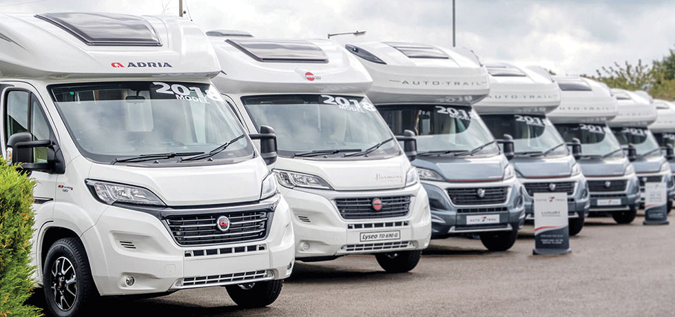 2018 Adria and Auto-Trail