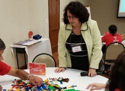 Workshop com dinâmica LEGO