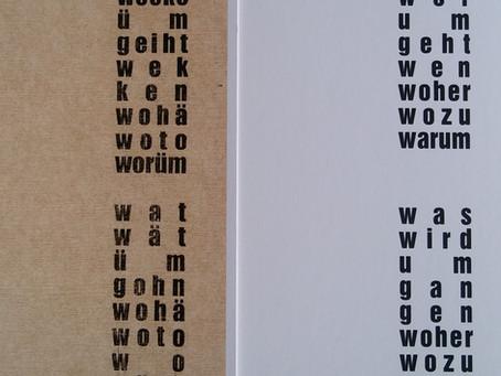 Gedicht von Heinrich Schürmann  aus Clarholz zum Thema Umgehungsstraße
