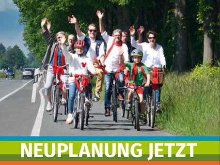 Save This DATE: 25. Juli 2021, Fahrraddemonstration