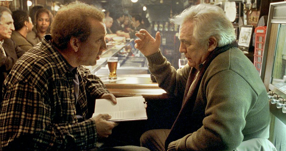 Adaptation - Kaufman (left) gets advice from McKee (right)