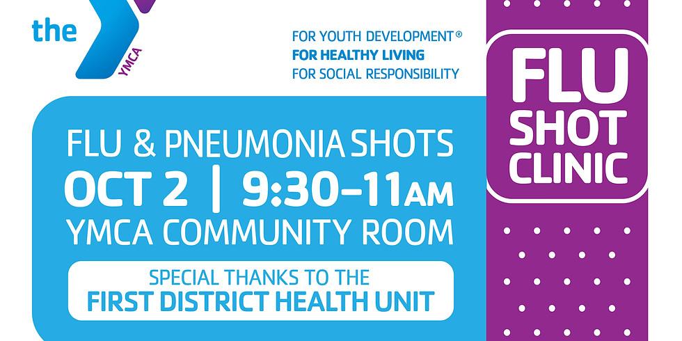 Flu & Pneumonia Shots by First District Health Unit