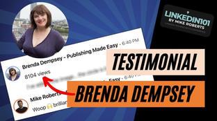 Testimonial from Brenda Dempsey
