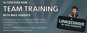LinkedIn team training corporate harrogate leeds