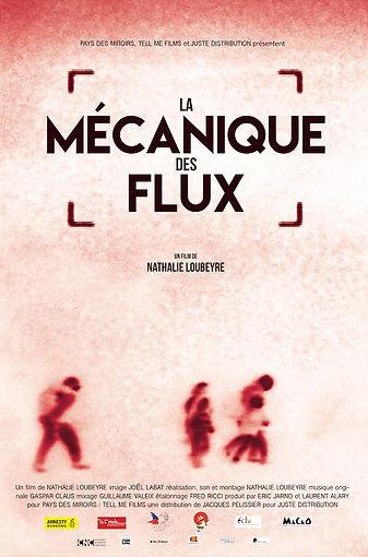 Affiche du film documentaire La Mécanique des flux