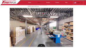 """New function!Factory interior""""spherical panorama image""""of FASTFIX."""