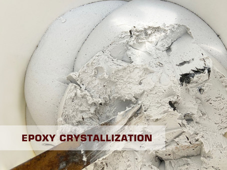 What to do if epoxy resin is crystallized?